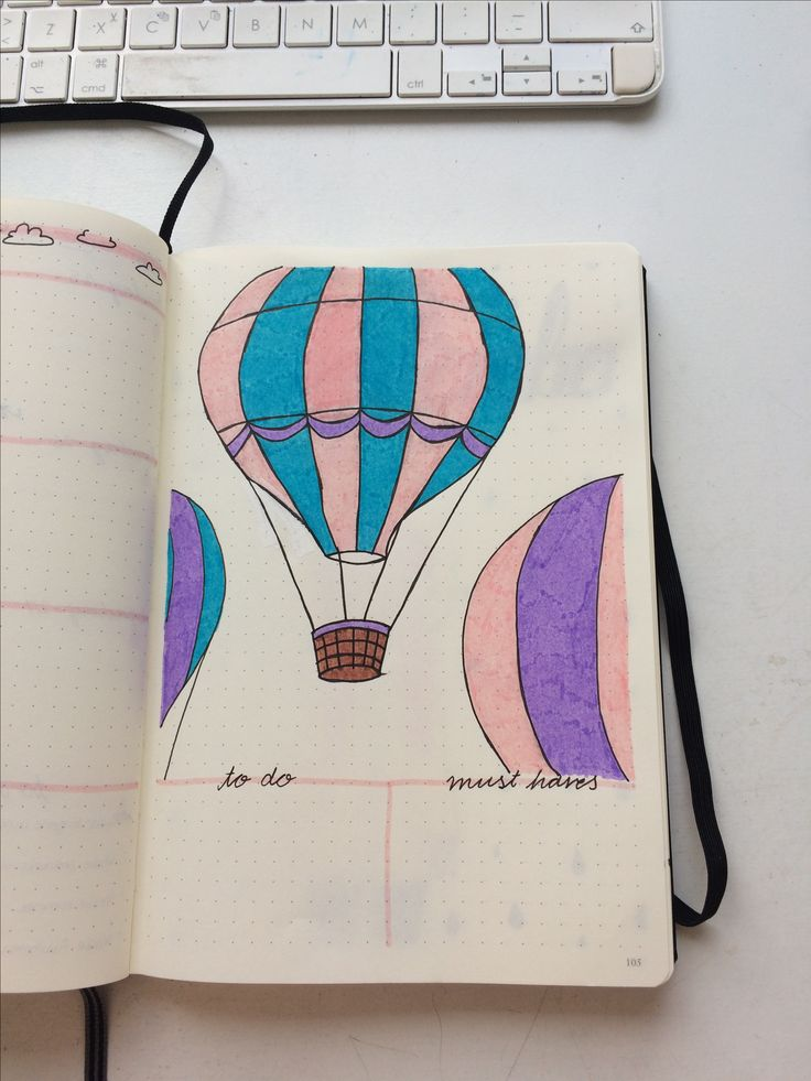To do's & Must haves, Bullet Journal
