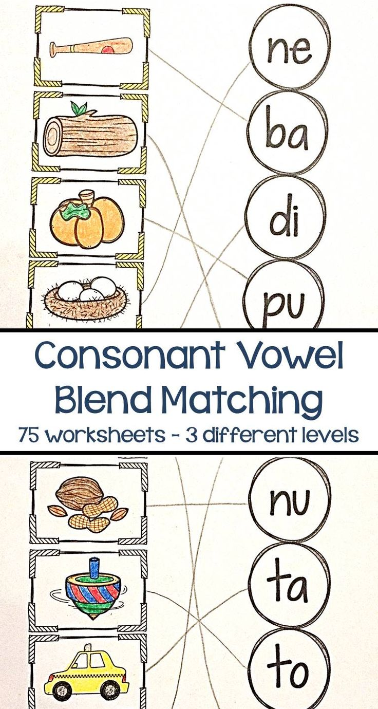 Reading consonant vowel blends is an excellent way to add variety to your phonics program and build a strong reading foundation with your students. Build confidence and fluency to help your students read short vowel words with ease!