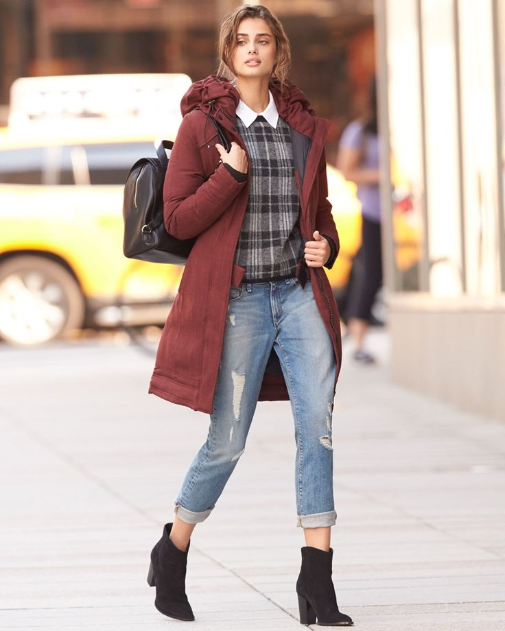 Taylor Hill poses for Neiman Marcus fall trend guide
