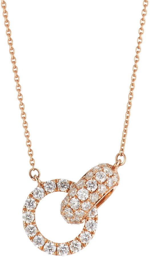 Diana M. Jewels 18k Diamond Heart Pendant Necklace eq8nrsWJ6