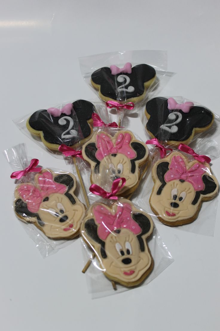 Galletas Minnie Mouse 100% Comestibles.