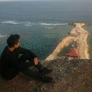 Pantai Melasti dari atas Tebing - Bali   Rizaltaf.com   Life's for Sharing