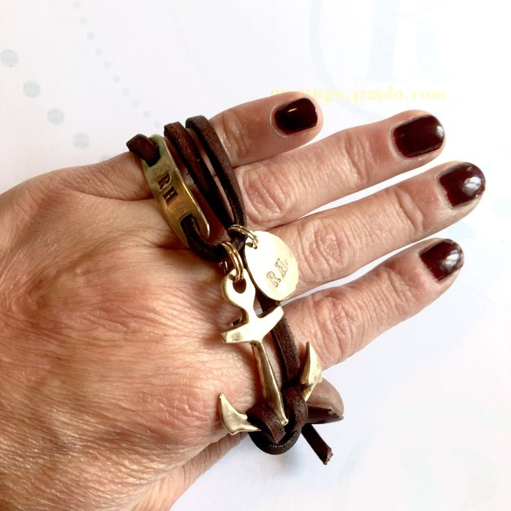 ®ingo Anchor bronze with nametags - myringo.ch