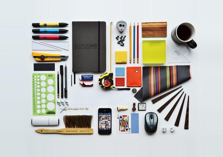 Architecture student desk