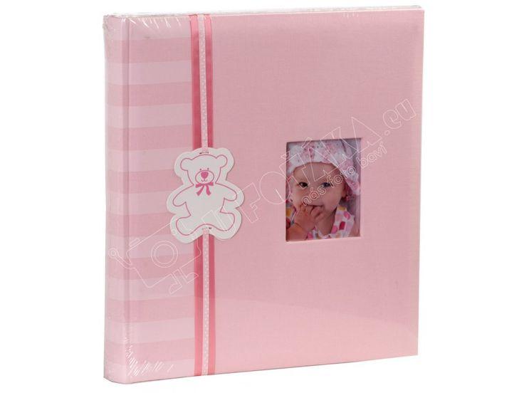 Dětské fotoalbum na růžky 100 stran Tradag HOLČIČÍ. Klasické fotoalbum (na růžky) s dětským motivem o rozměrěch 29 x 32 cm, 100 bílých stran (50 listů).