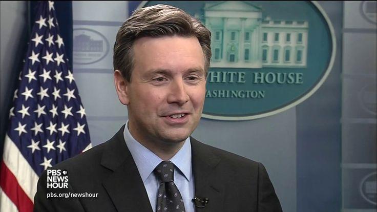 Awesome How Press Secretary Josh Earnest made sure he knew what Obama was thinking Check more at http://dougleschan.com/the-recruitment-guru/barack-obama/how-press-secretary-josh-earnest-made-sure-he-knew-what-obama-was-thinking/