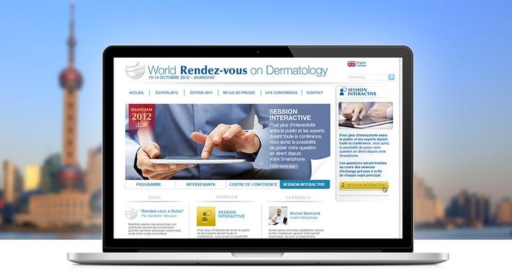 Bioderma  http://www.world-rendezvous-dermatology.com  1er RDV mondial des experts de la dermatologie