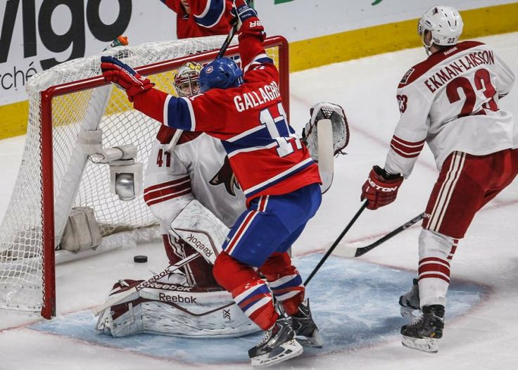 Max Pacioretty goal celebrated by Brendan Gallagher (Photo: Olivier Pontbriand, La Presse)