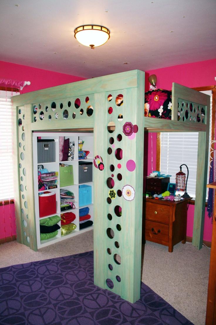 Bunk Bed With Room Under 376 best platform, bunk, murphies, etc. images on pinterest | bed