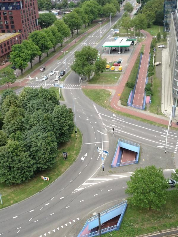 Serious cycle infrastructure in Utrecht, NL. Photo by Alan Hoekstra. Click image to tweet via slowottawa.ca and visit the slowottawa.ca boards >> http://www.pinterest.com/slowottawa/