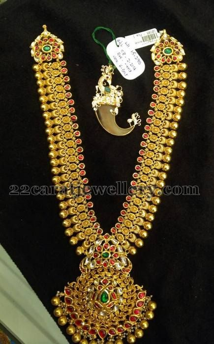 Jewellery Designs: 150 Grams Elegant Long Chain