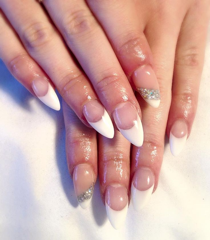 Sculptured acrylic nails, nails by Mikaelac Wigan