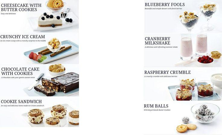 Royal Dansk desserts