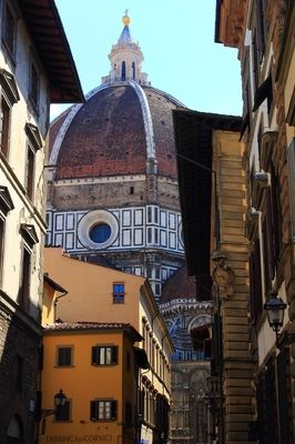 Glimpse at the Iconic Duomo, Florence, Italy