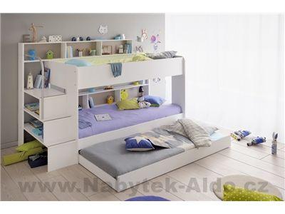 Dětská patrová postel Swan