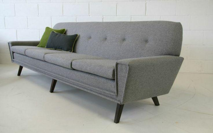 Jesper - Danish Low Profile Four Seater Sofa - Pelikan Online