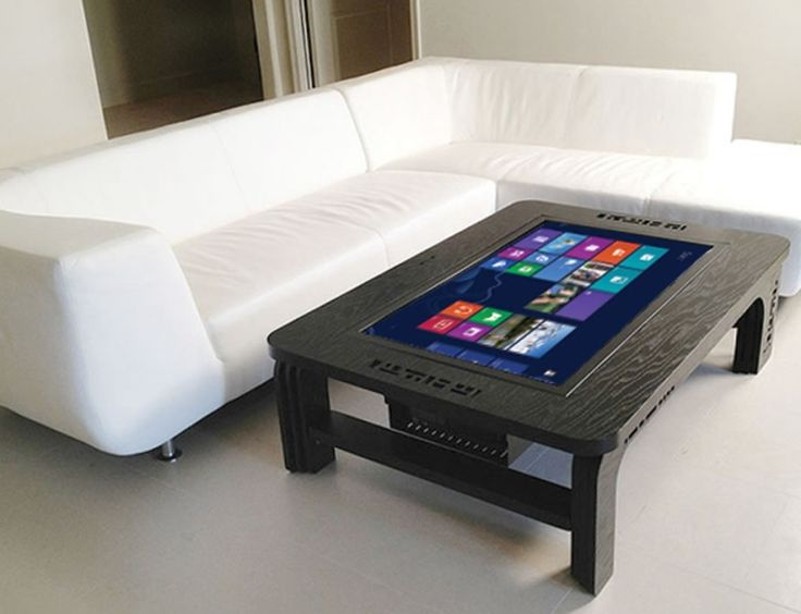 The Giant Coffee Table Touchscreen Computer | Hopefully, Instead of running Windows 8, there will be Apple OS, Chrome, and even UNIX or Linux running!