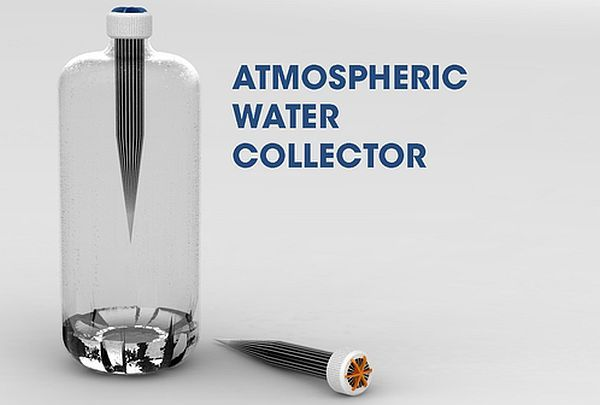 Atmospheric Water Collector can extract water from air ...