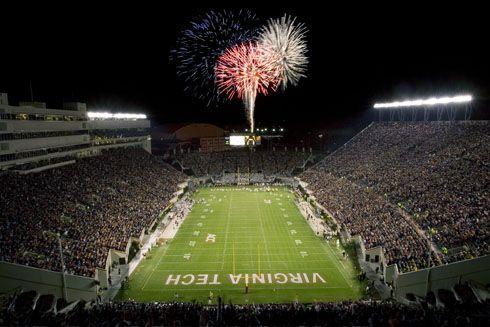 Lane Stadium. Go Hokies!
