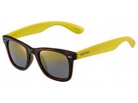 Ochelari de soare unisex Polaroid P8400B Havana/Fluo Yellow