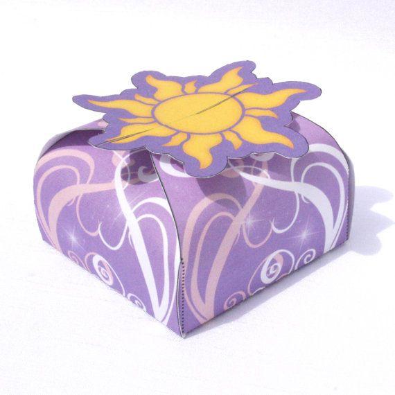 Disney Tangled Inspired Printable Rapunzel Gift Box by Shnookers, $3.00