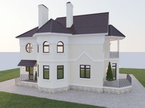 Дизайн фасада частного дома: фото, варианты декора | Строительный портал