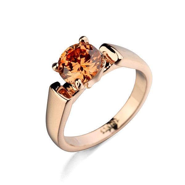 Brand TracysWing Genuine Austria Crystal  gold Color Rings for Women healthy Anti Allergies   #RA13299r