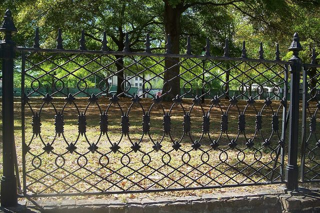 113 best fer forg images on pinterest iron doors for Charleston style fence