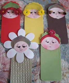 bookmarker: Projects, Faces, Crafts Bookmarks, Animal Bookmarks, Cards