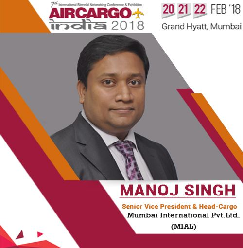 """""""Introducing our very own - Manoj Singh from Mumbai Airport as a speaker Air Cargo India 2018"""""""