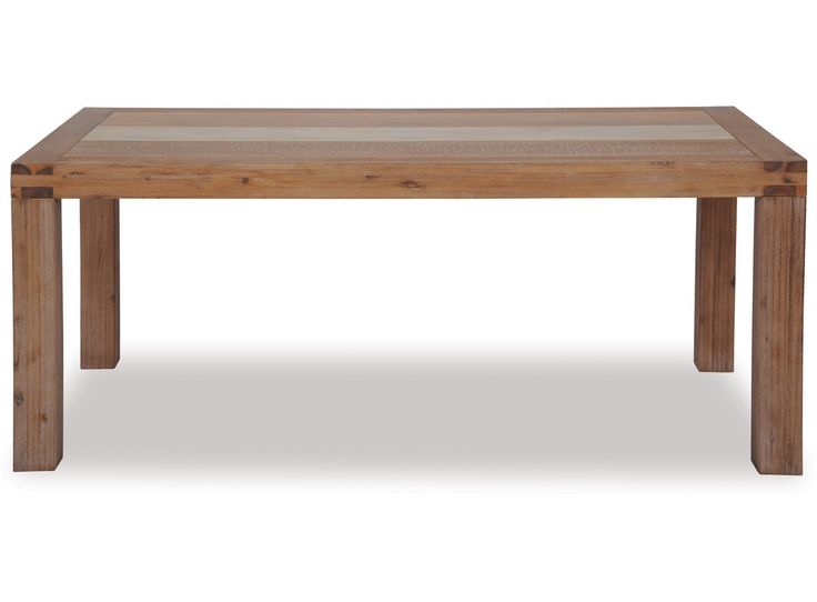 the colorado dining table is a unique and contemporary design that