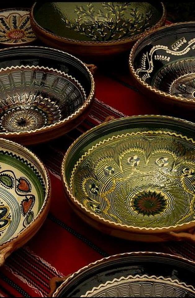 Horezu ceramica - Horezu pottery, www.romaniasfriends.com