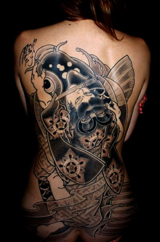 41 best japanese tattoo images on pinterest japan tattoo tattoo japanese and asian tattoos. Black Bedroom Furniture Sets. Home Design Ideas