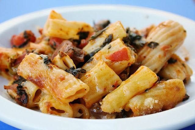Baked Pasta with Chicken Sausage | { yum } | Pinterest