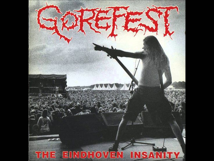 GOREFEST - The Eindhoven Insanity ◾ (live album 1993, Dutch death metal)