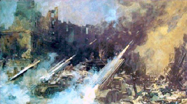 E. Danilevskiy. Fire on Reichstag
