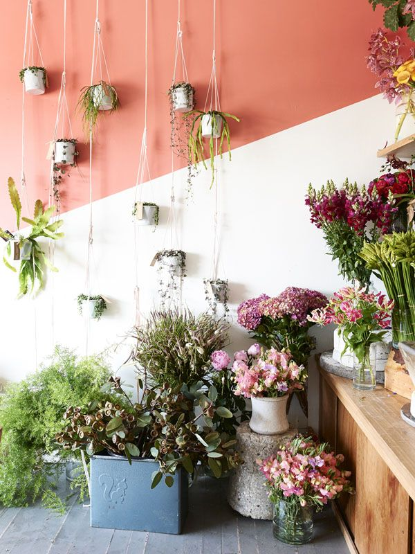 Melbourne Florist of Cecila Fox. Photos by Eve Wilson via thedesignfiles.net
