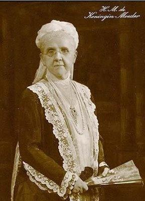 Koningin-Moeder Emma Queen of the Netherlands