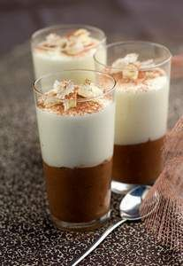 Un vrai régal ! Cette recette avec deux sortes de chocolat est toute simple !