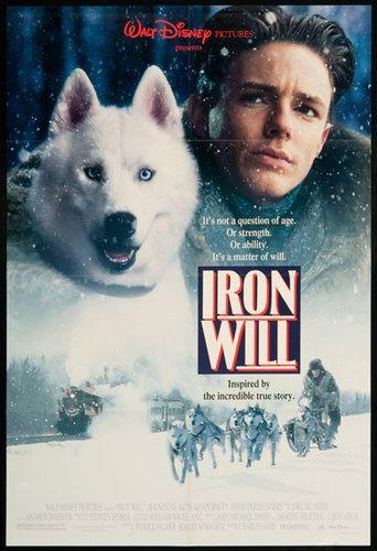 Iron Will (1994) starring Mackenzie Astin, Kevin Spacey & David Ogden Stiers