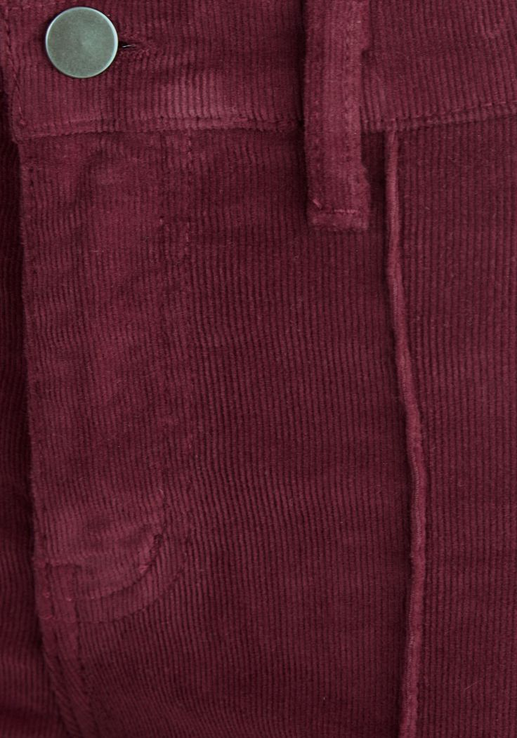 Rocking Major Cords Pants in Barn Burgundy. In a groovy mood? #red #modcloth