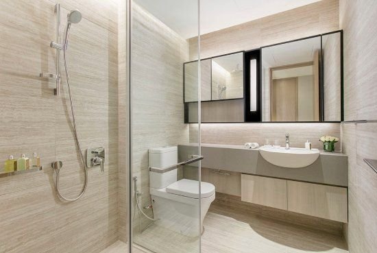 Ascott Orchard Singapore - 2-Bedroom Premier Suite Common Bathroom