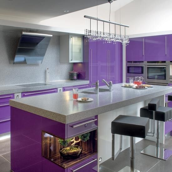 Green And Purple Kitchen: 17 Best Images About Amazing Kitchens On Pinterest