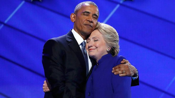 El Partido Demócrata está en buenas manos , dice el presidente en un discurso patriótico y optimista