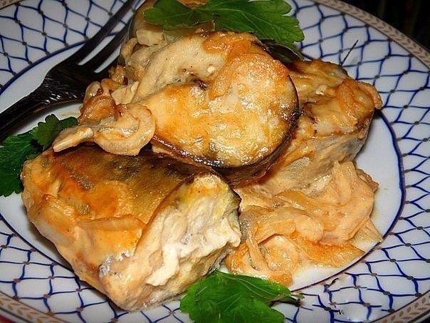 Волшебный мир кулинарии. Скумбрия в горчичном соусе - не просто вкусная, а тающая во рту! - Волшебный мир кулинарии