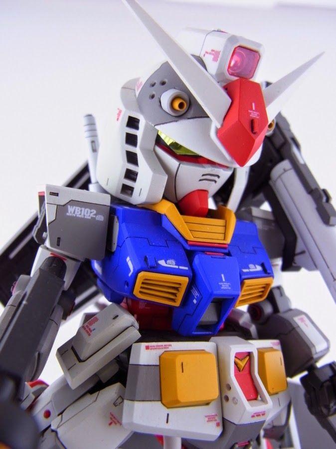 Custom Build: SD x HG RX-78-2 Gundam + Diorama - Gundam Kits Collection News and Reviews