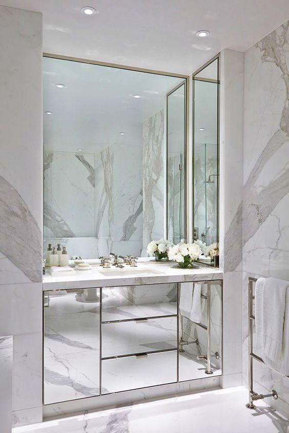 Bathroom Goals: 25 Amazing Luxury Bathrooms / Bathroom Design / Minimal  Interior #bathroomgoals #
