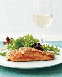 Triple Mustard Salmon: Seafood Recipes, Fish Recipes, Triple Mustard Salmon, Delicious Salmon, Mustard Seeds, Healthy Food, Favorite Recipes, Salmon Recipes, Triplemustard