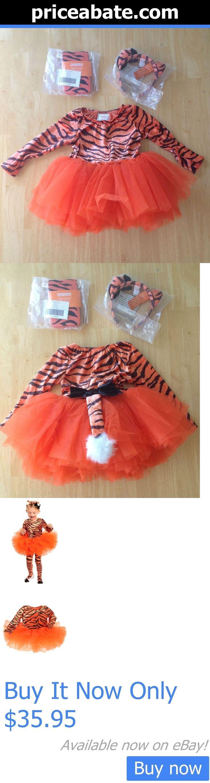 Halloween Costumes Kids: Nwt Gymboree Halloween Tiger Tutu Costume Set 6 9 12Mo Headband Tights BUY IT NOW ONLY: $35.95 #priceabateHalloweenCostumesKids OR #priceabate