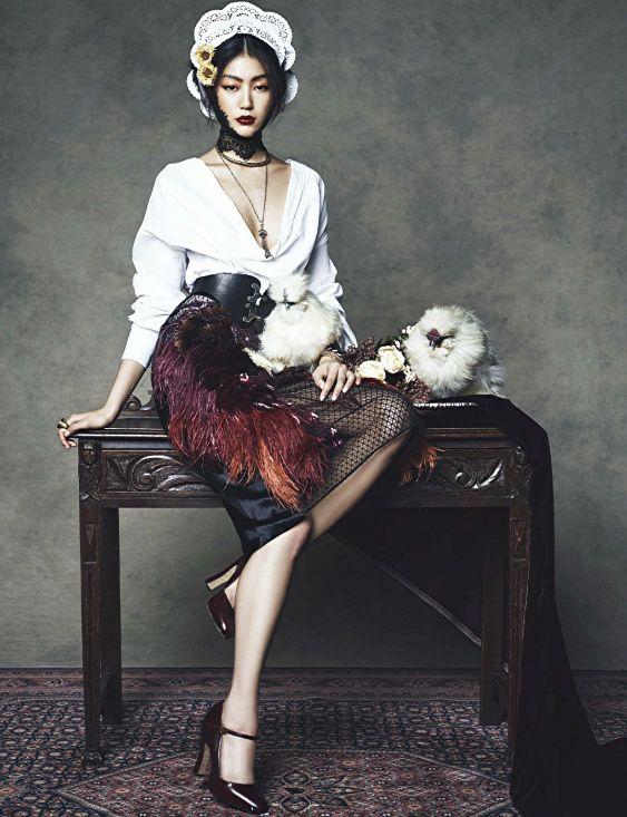 Harper's Bazaar Korea January 2014. #fashion #photography #gucci